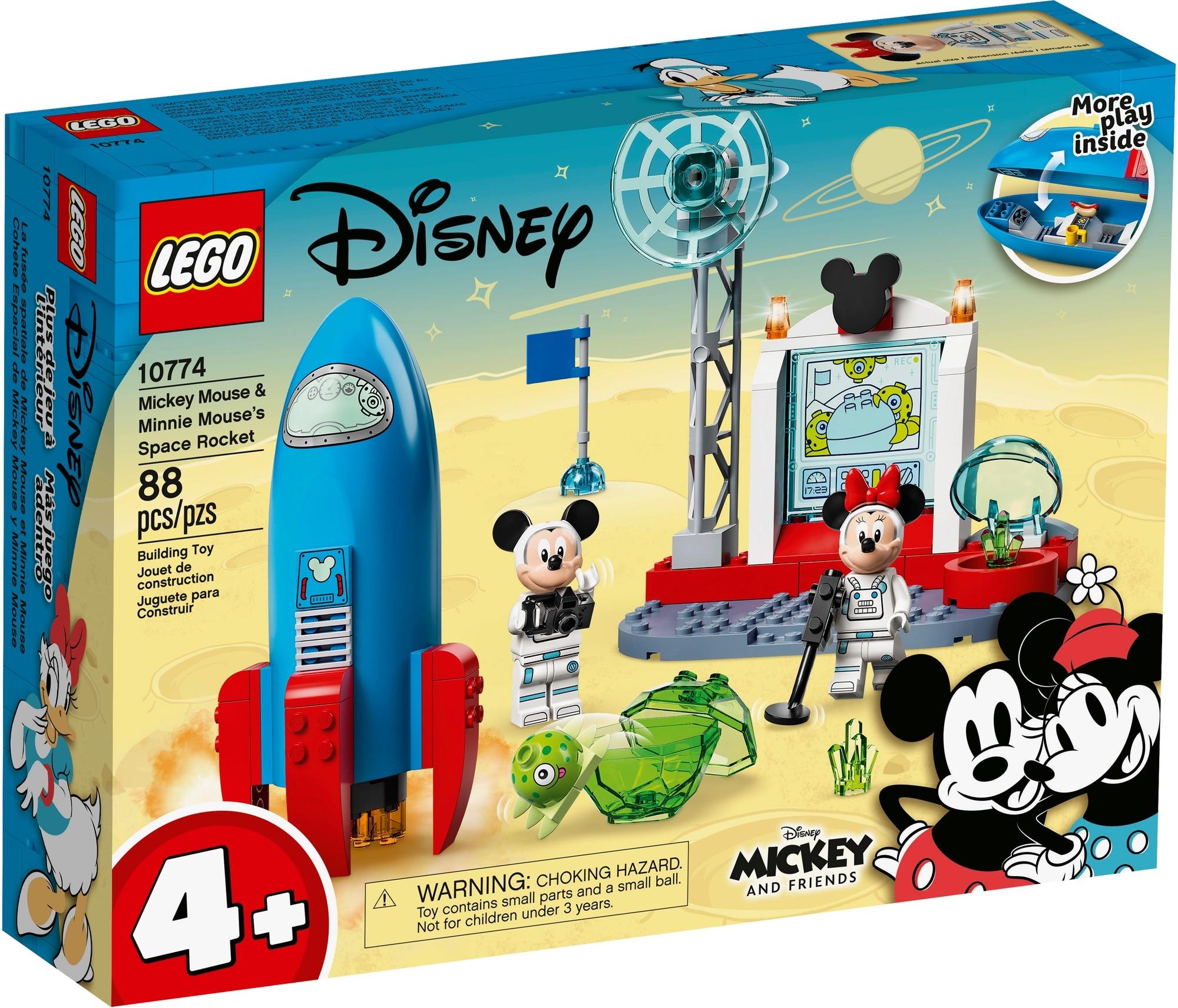 LEGO Disney 10774 Mickys Und Minnies Weltraumrakete 2