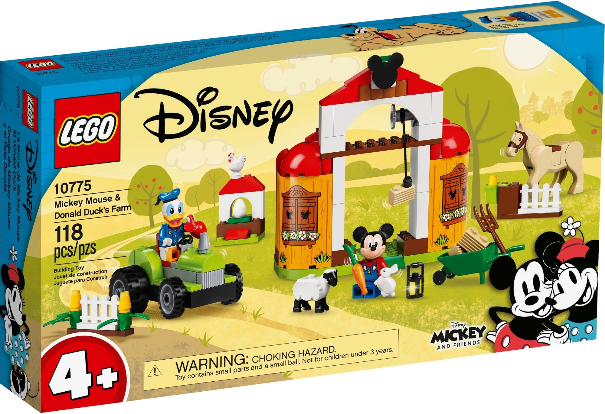 LEGO Disney 10775 Mickys Und Donald Duck's Farm 2
