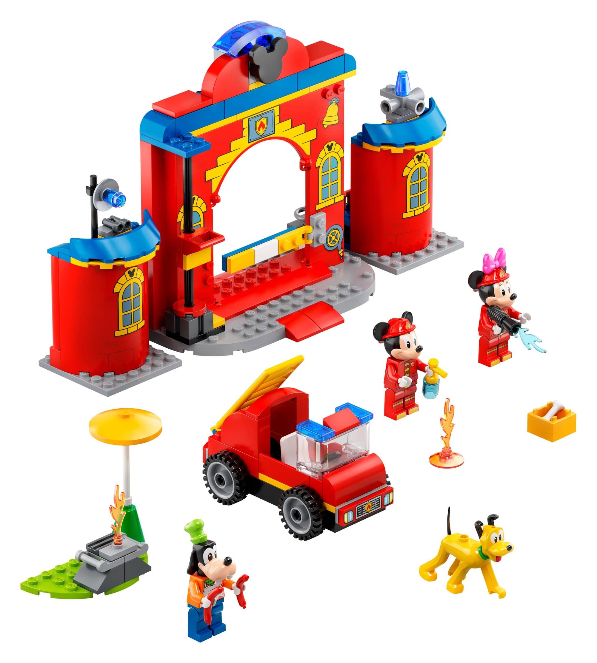 LEGO Disney 10776 Mickys Feuerwehrstation Und Feuerwehrauto 3