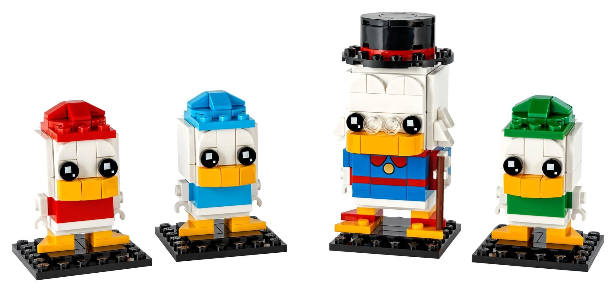 LEGO Disney 40477 Dagobert Duck, Tick, Trick & Track 1