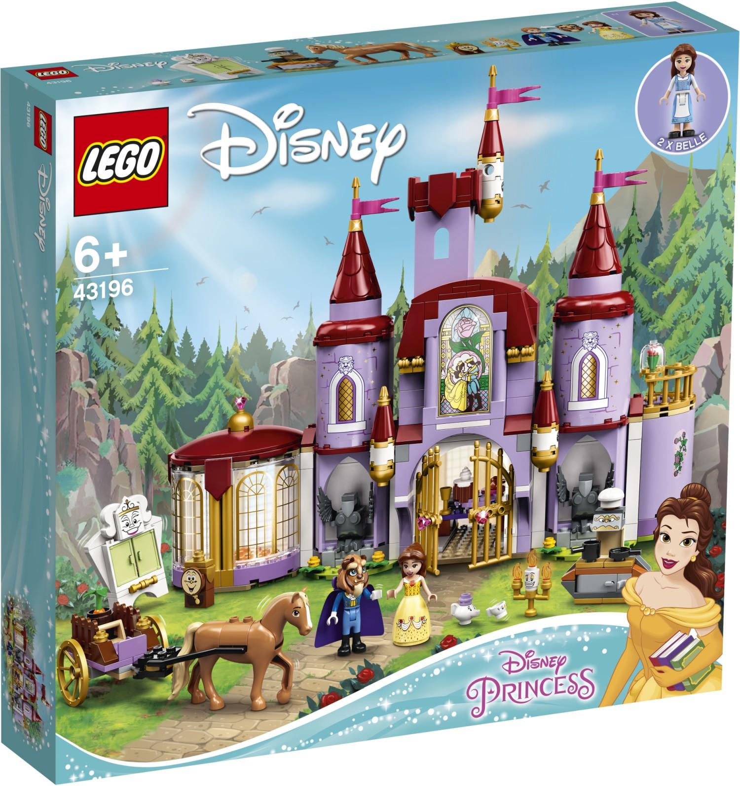 LEGO Disney 43196 Belles Schloss 1