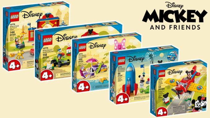 LEGO Disney Mickey And Friends Juni 21 Titel