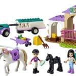LEGO Friends 41441 Trainingskoppel Und Pferdeanhänger 1