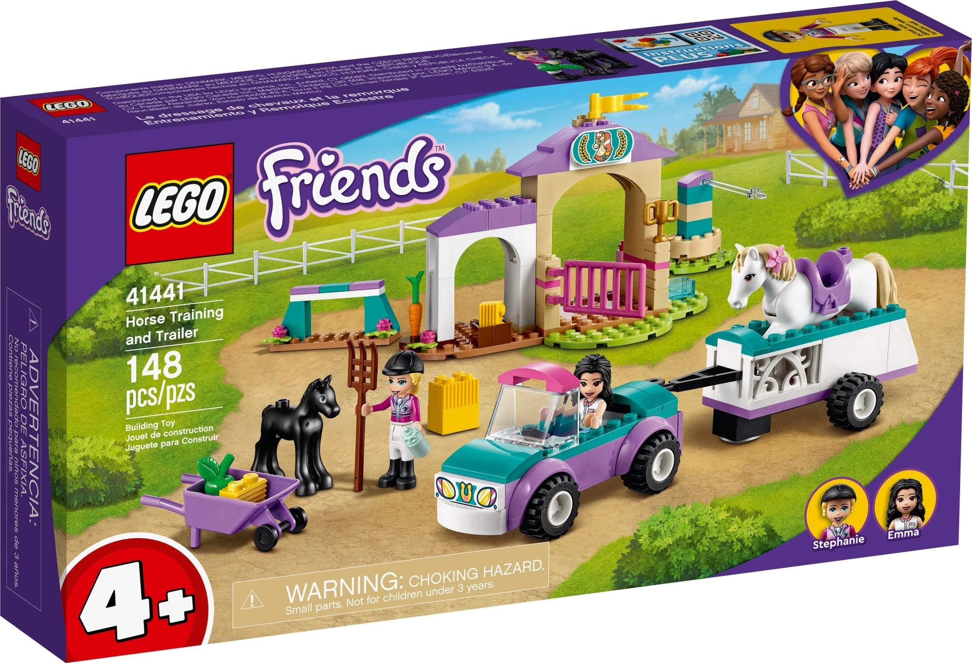 LEGO Friends 41441 Trainingskoppel Und Pferdeanhänger 2
