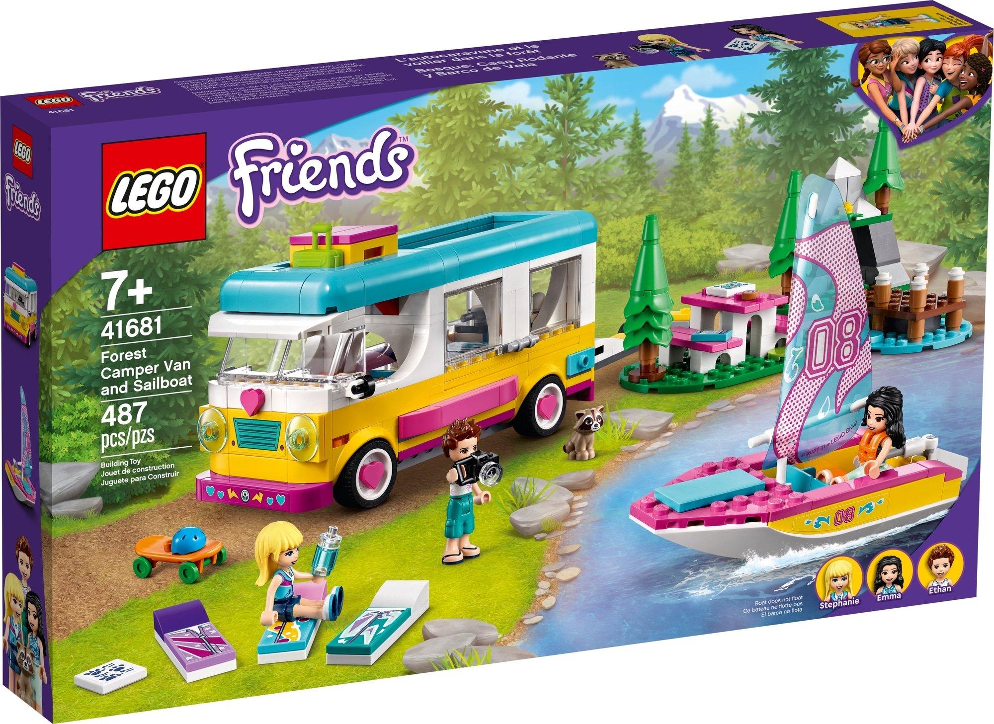 LEGO Friends 41681 Wohnmobil Und Segelbootausflug 2