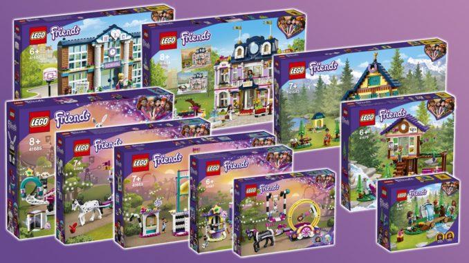 LEGO Friends Neuheiten 2021 Titelbild