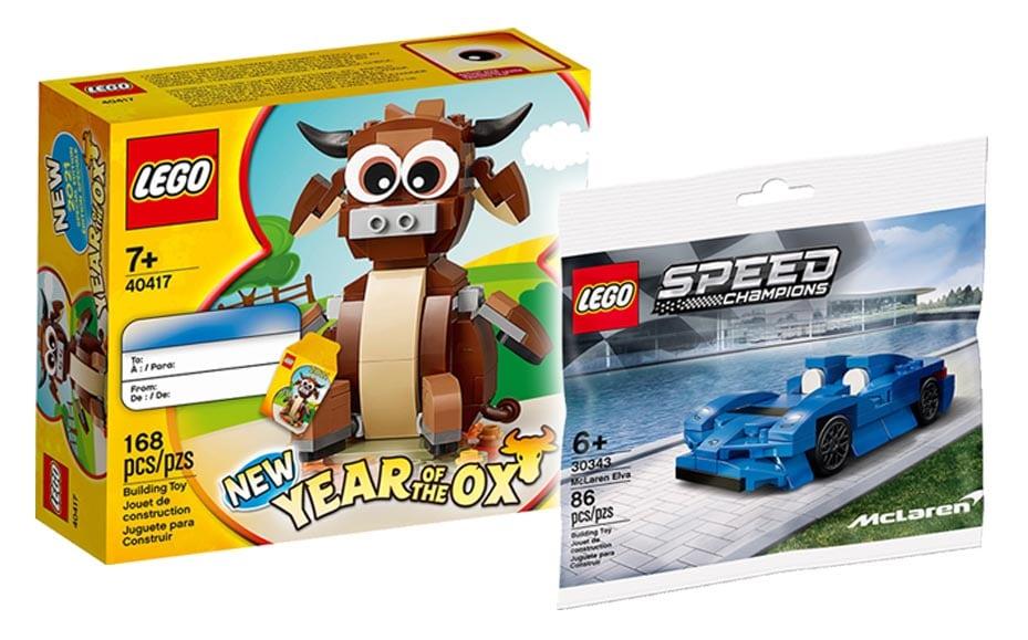 LEGO Gratisbeigaben Mai 2021