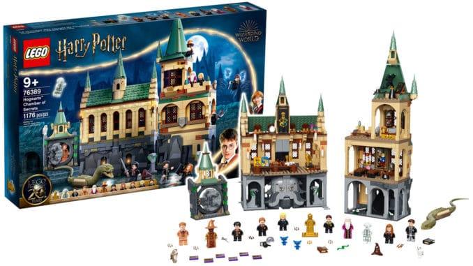 LEGO Harry Potter 76389 Hogwarts Kammer Des Schreckens Titel