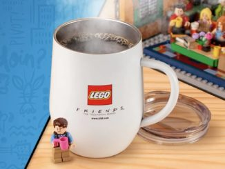 LEGO Ideas Central Perk Tasse Gratisbeigabe