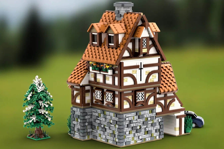LEGO Ideas German Traditinal Cottage (2)