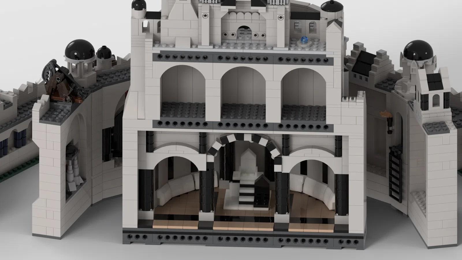 LEGO Ideas Minas Tirith (12)