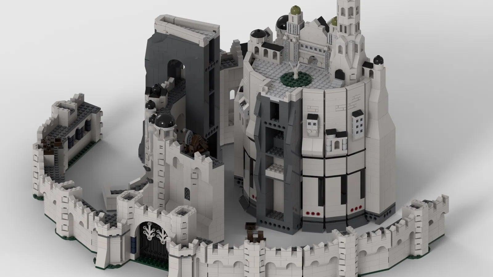 LEGO Ideas Minas Tirith (14)