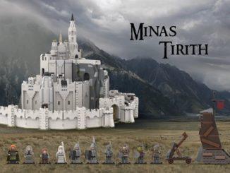 LEGO Ideas Minas Tirith (15)