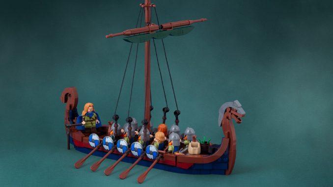 LEGO Ideas Wikinger Schiff Jonas Kramm