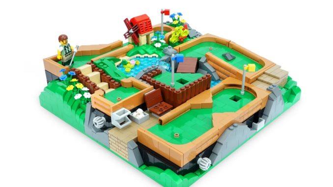LEGO Ideas Working Minigolf Course (1)