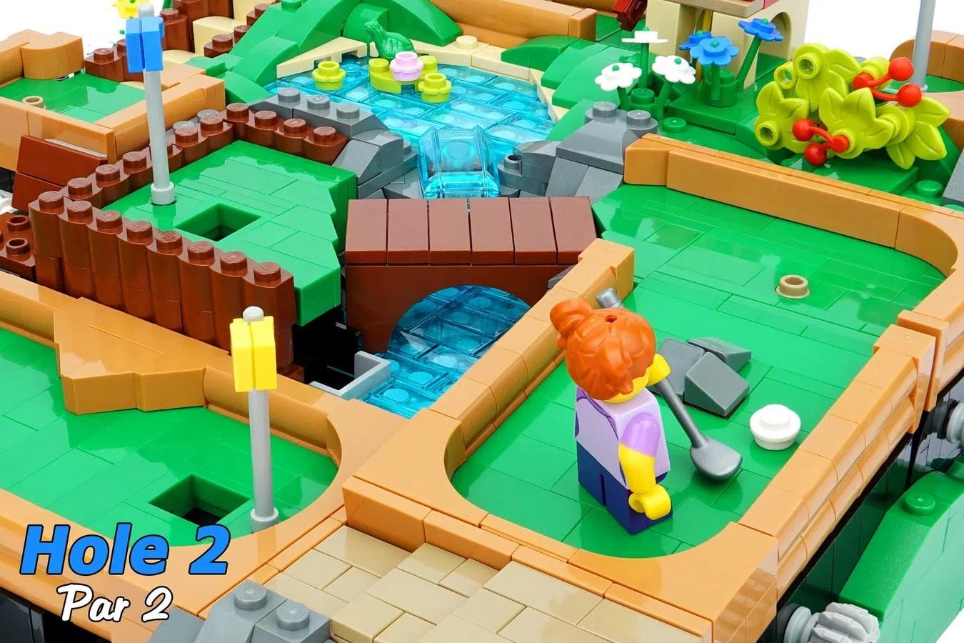 LEGO Ideas Working Minigolf Course (5)