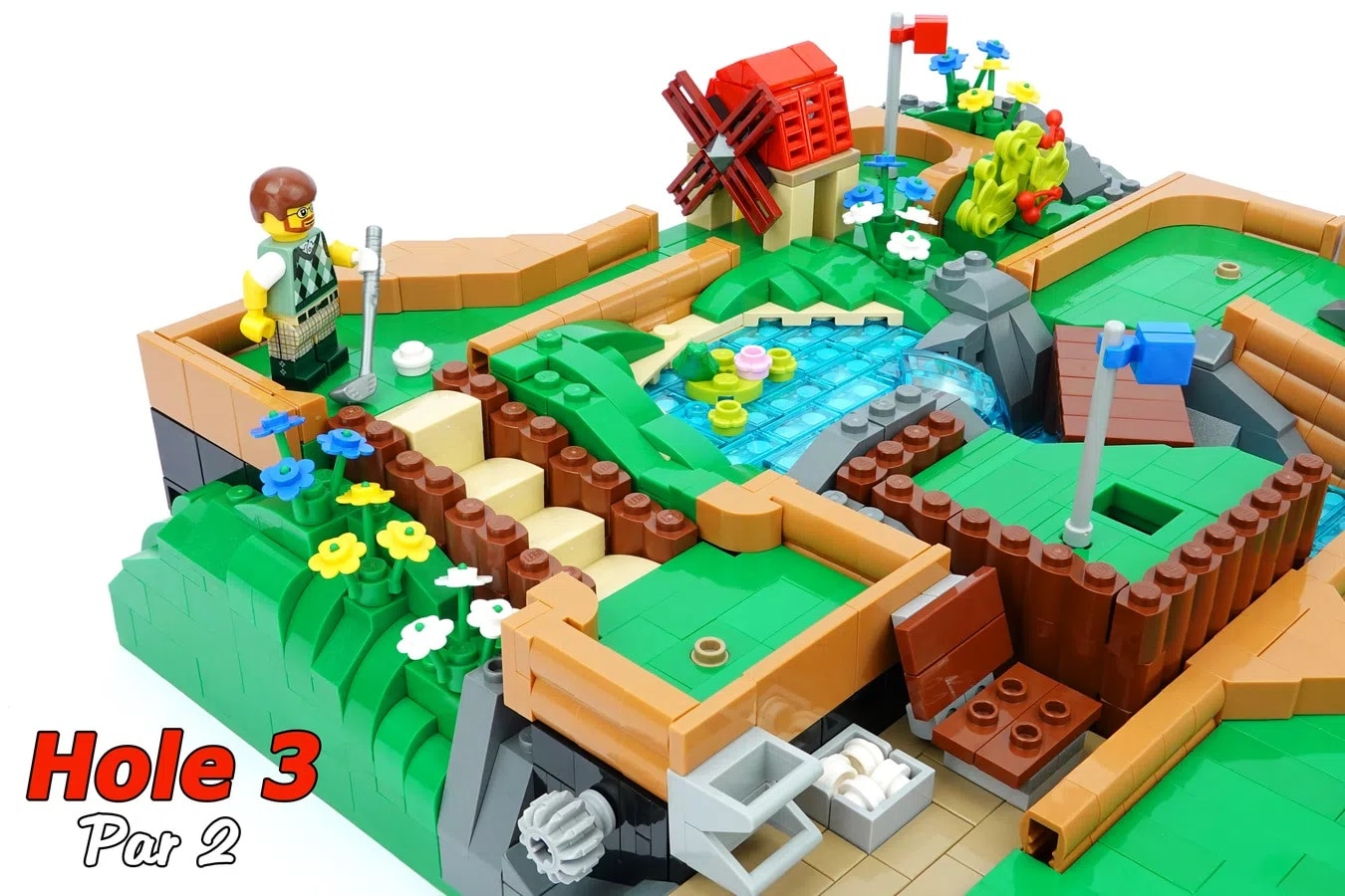 LEGO Ideas Working Minigolf Course (6)