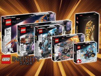 LEGO Marvel 2021 Infinity Saga