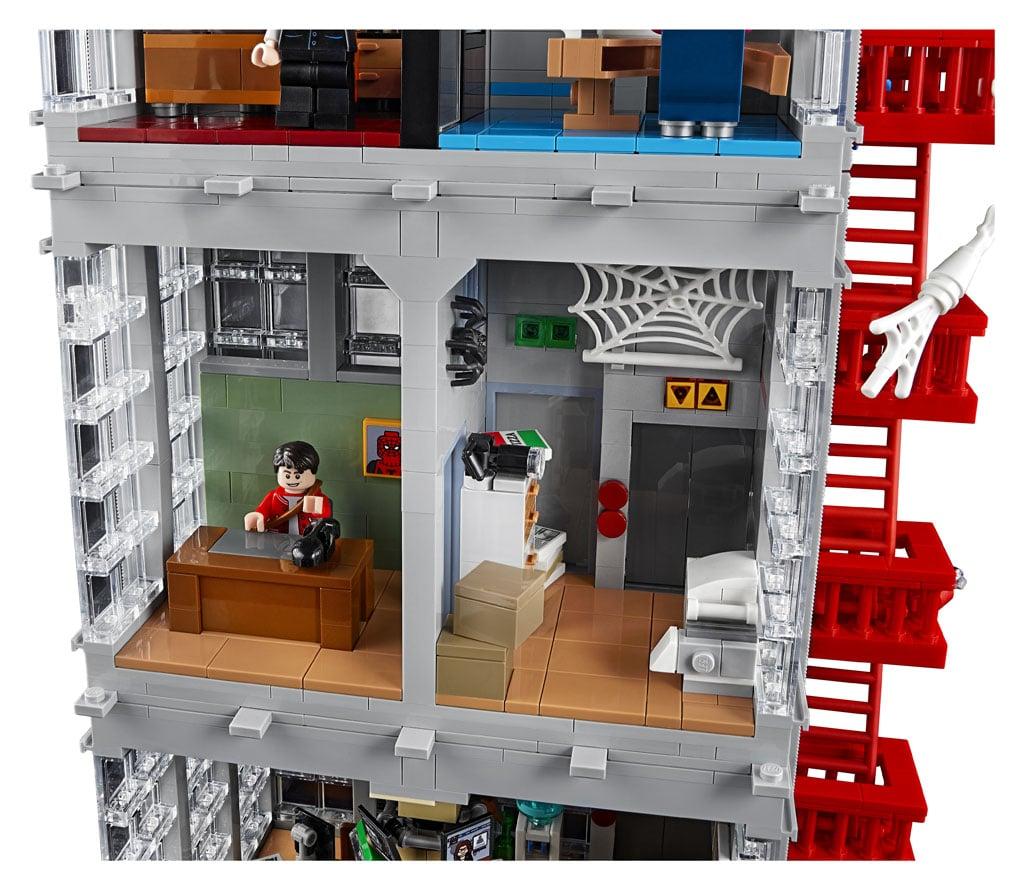 LEGO Marvel 76178 Daily Bugle (9)