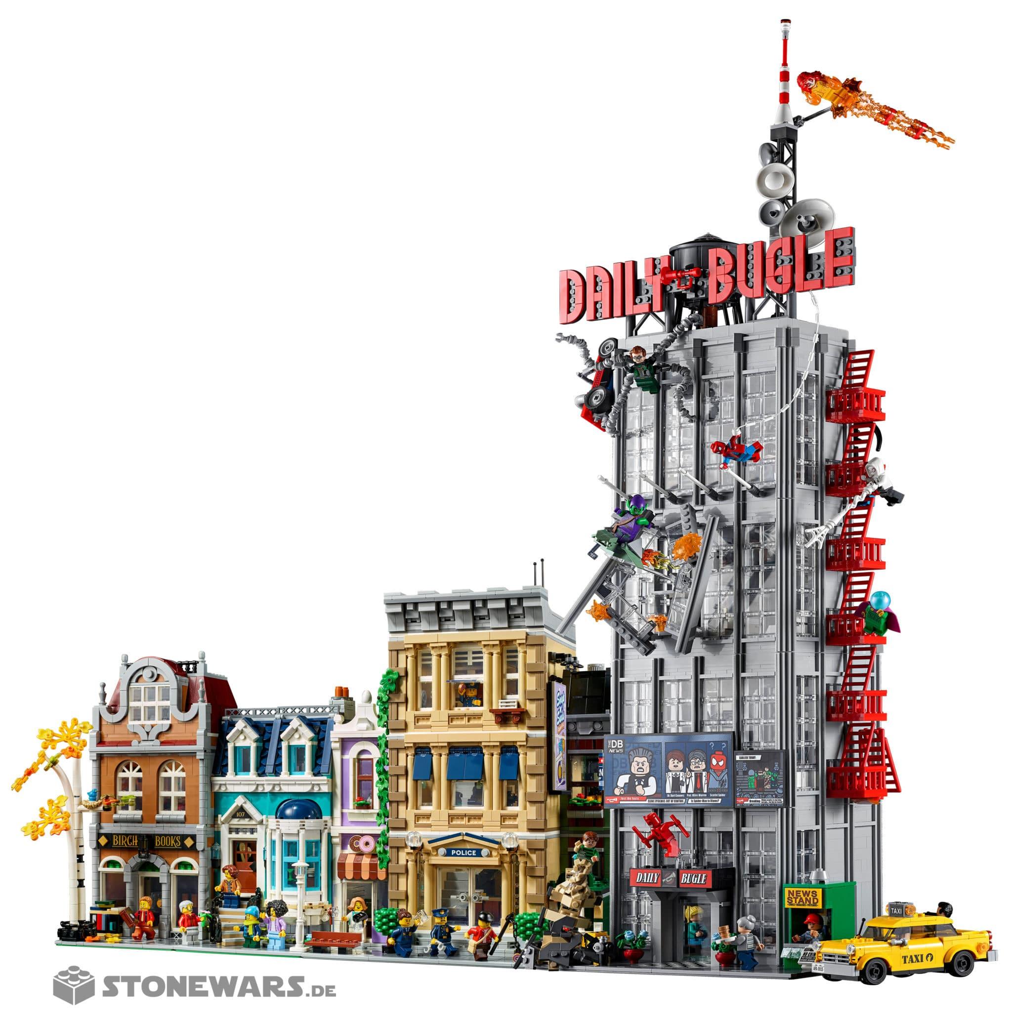 LEGO Marvel 76178 Daily Bugle Modular Building