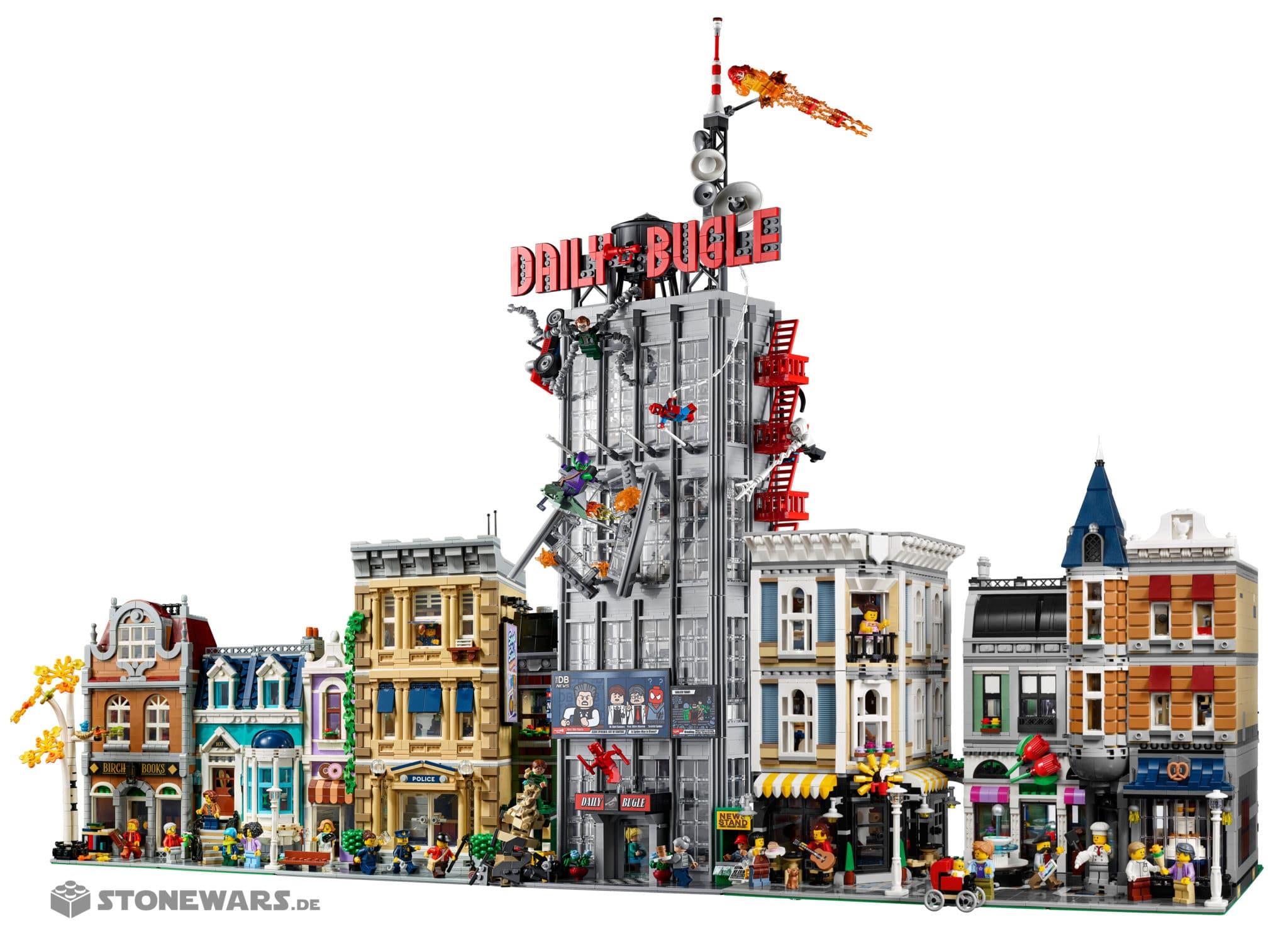 LEGO Marvel 76178 Daily Bugle Modular Buildings 2