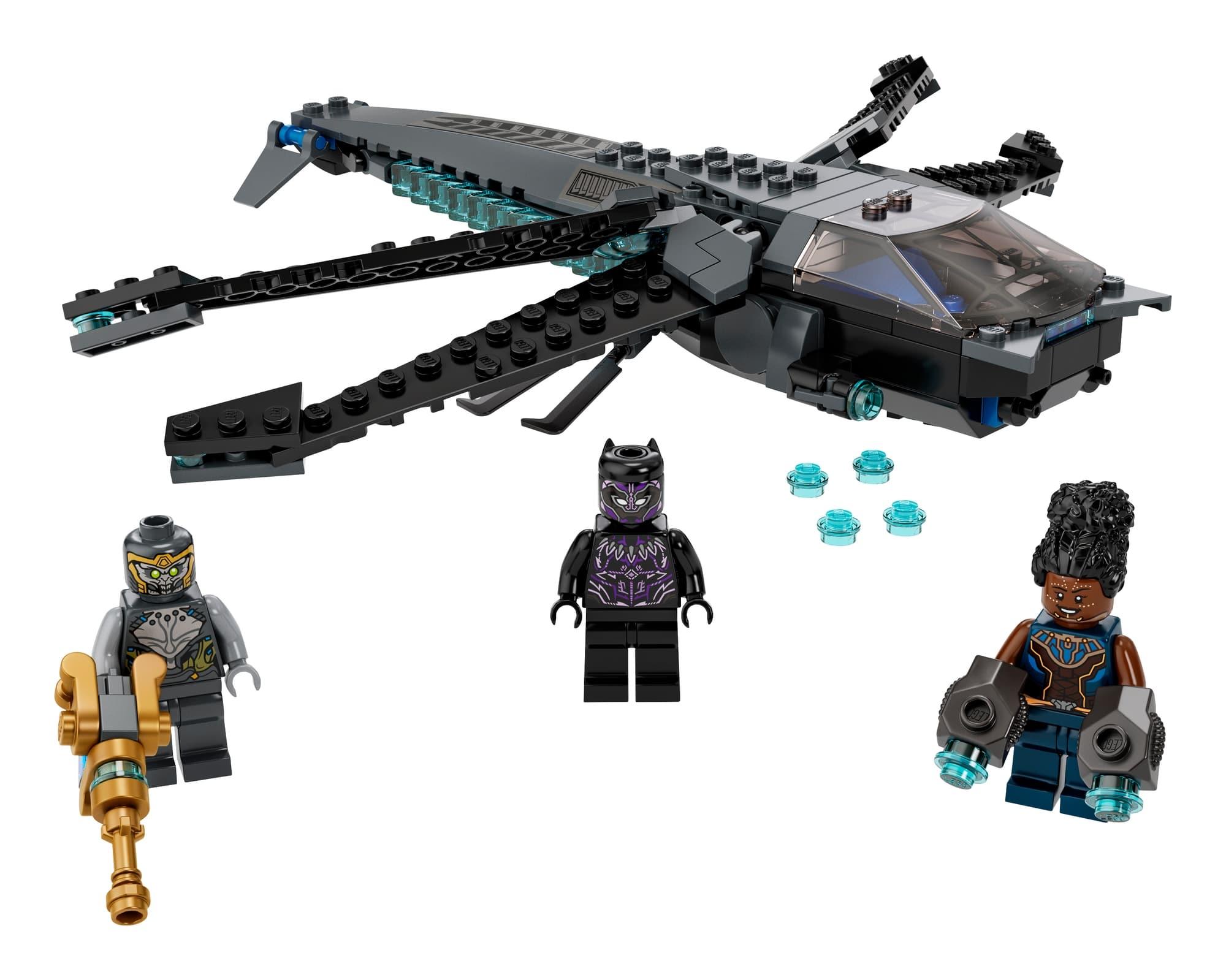 LEGO Marvel 76186 Black Panthers Libelle 1
