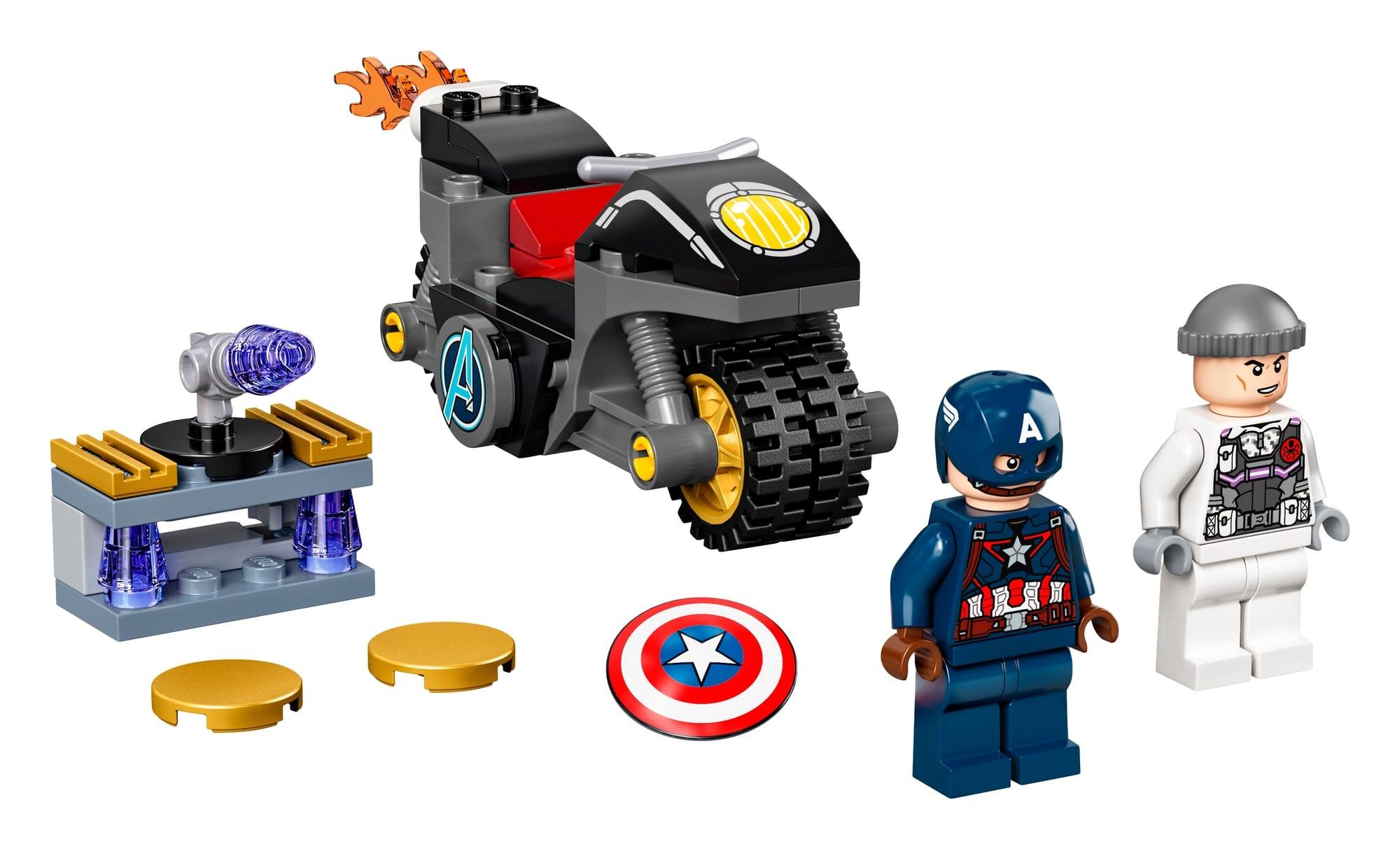LEGO Marvel 76189 Duell Zwischen Captain America Und Hydra 1