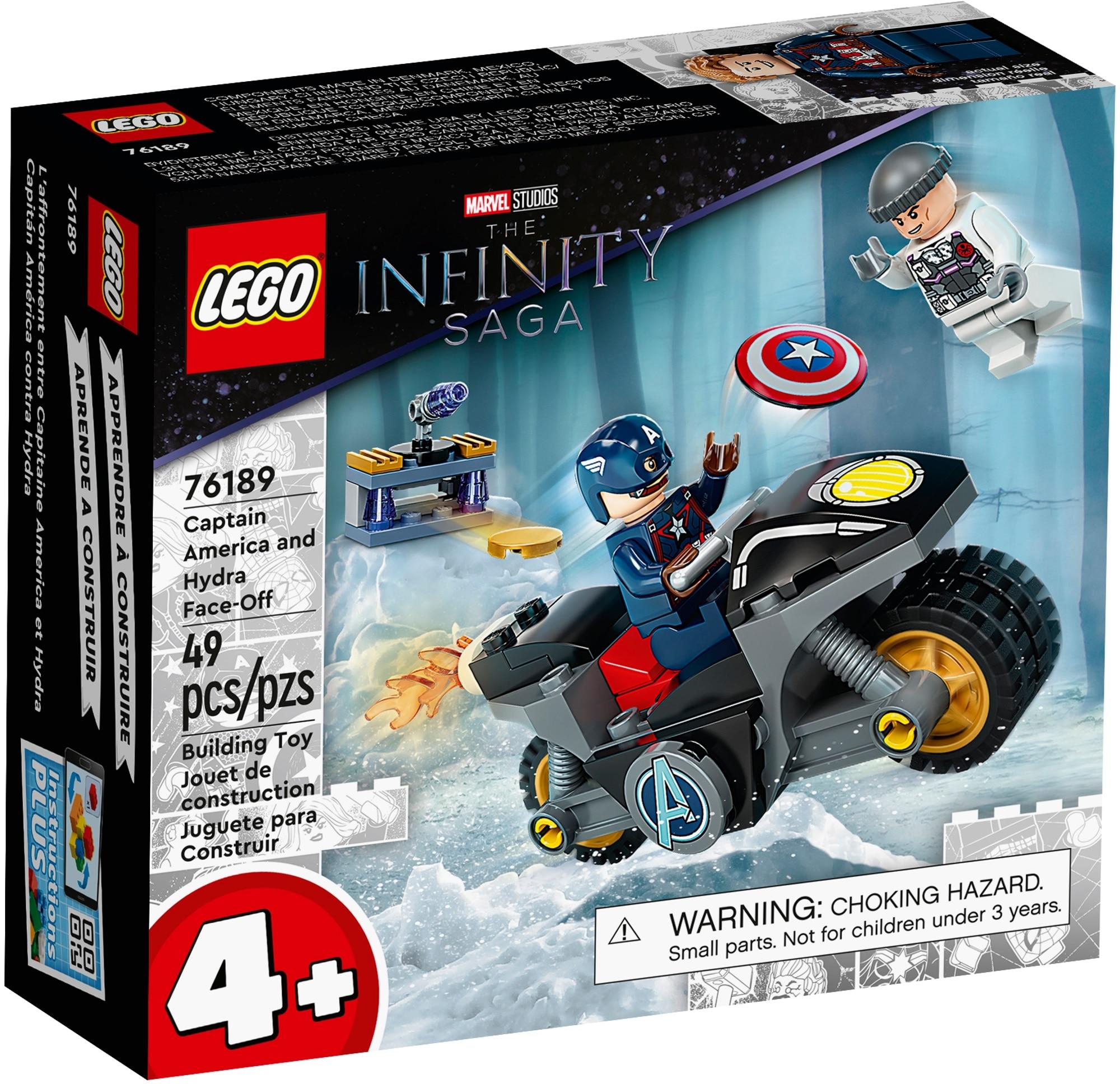 LEGO Marvel 76189 Duell Zwischen Captain America Und Hydra 2