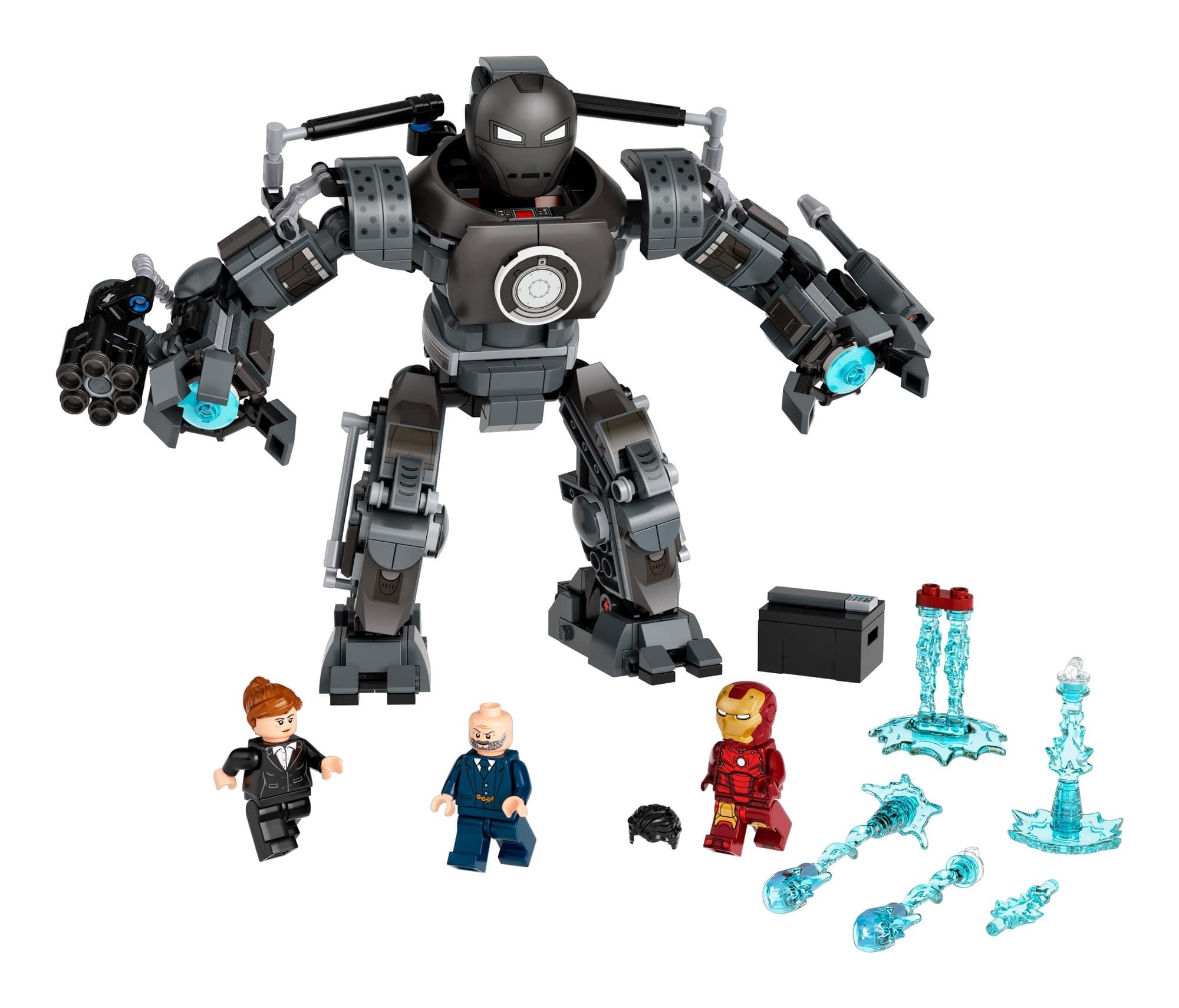 LEGO Marvel 76190 Iron Man Und Das Chaos Durch Iron Monger 1