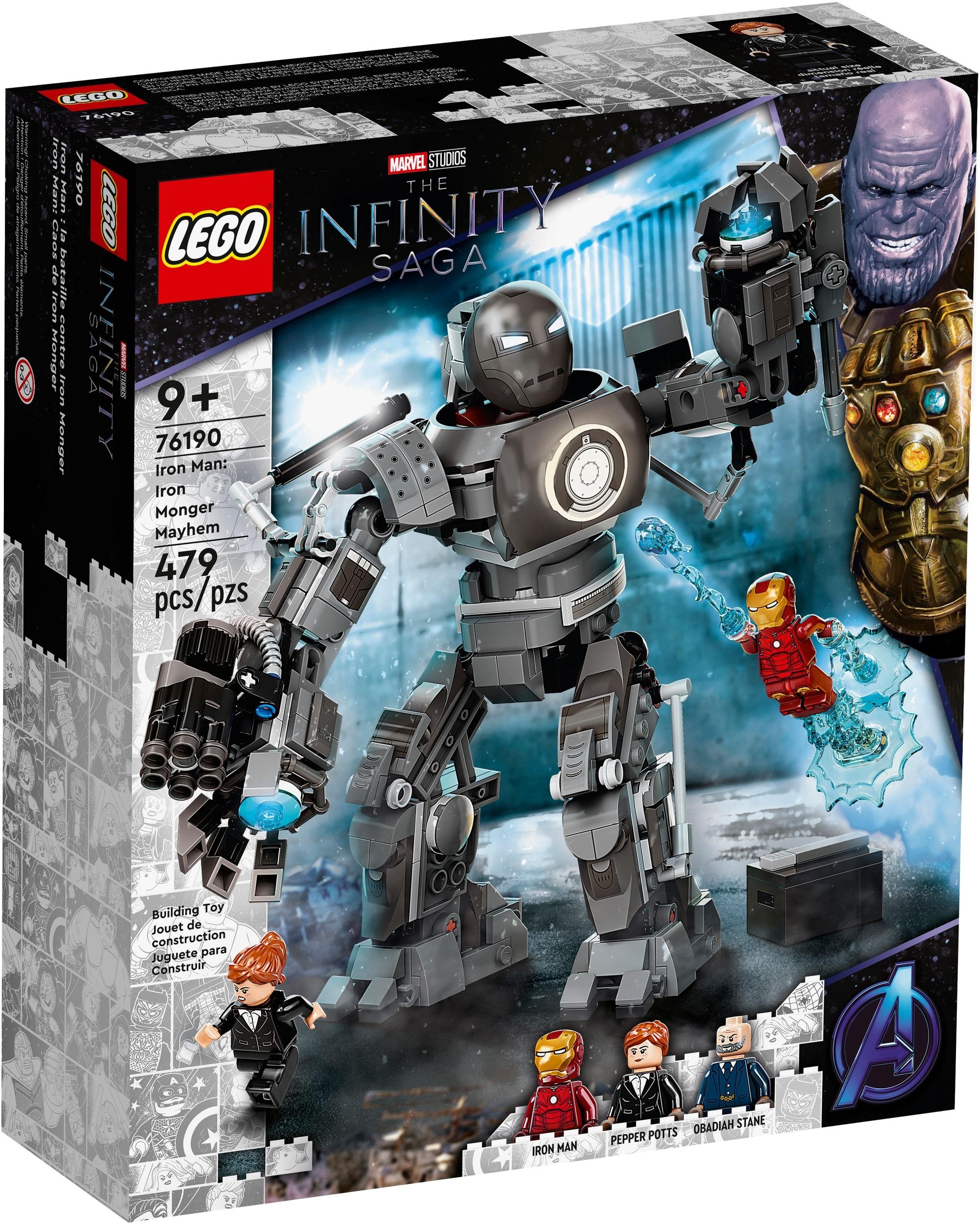 LEGO Marvel 76190 Iron Man Und Das Chaos Durch Iron Monger 2