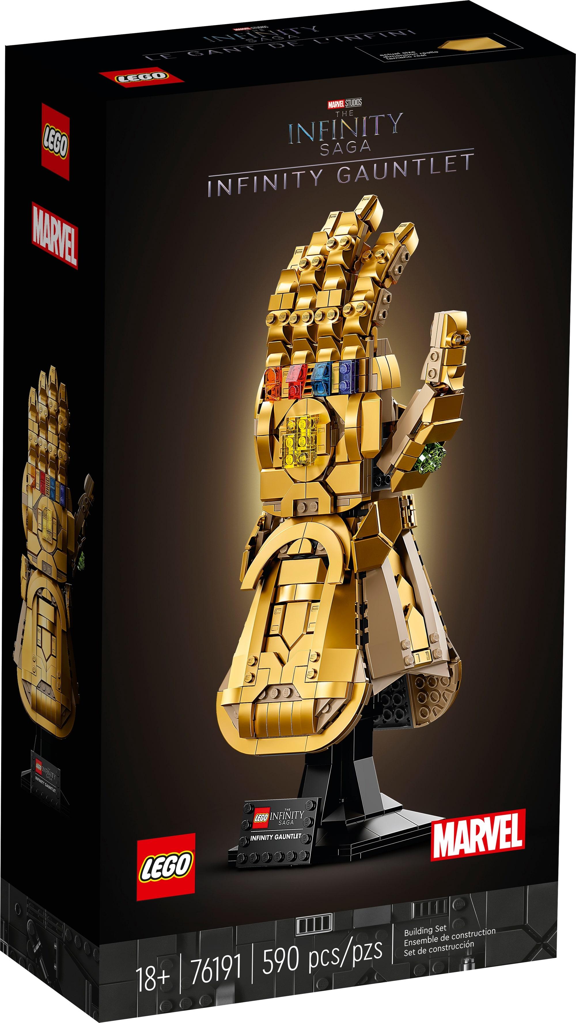 LEGO Marvel 76191 Infinity Handschuh 2