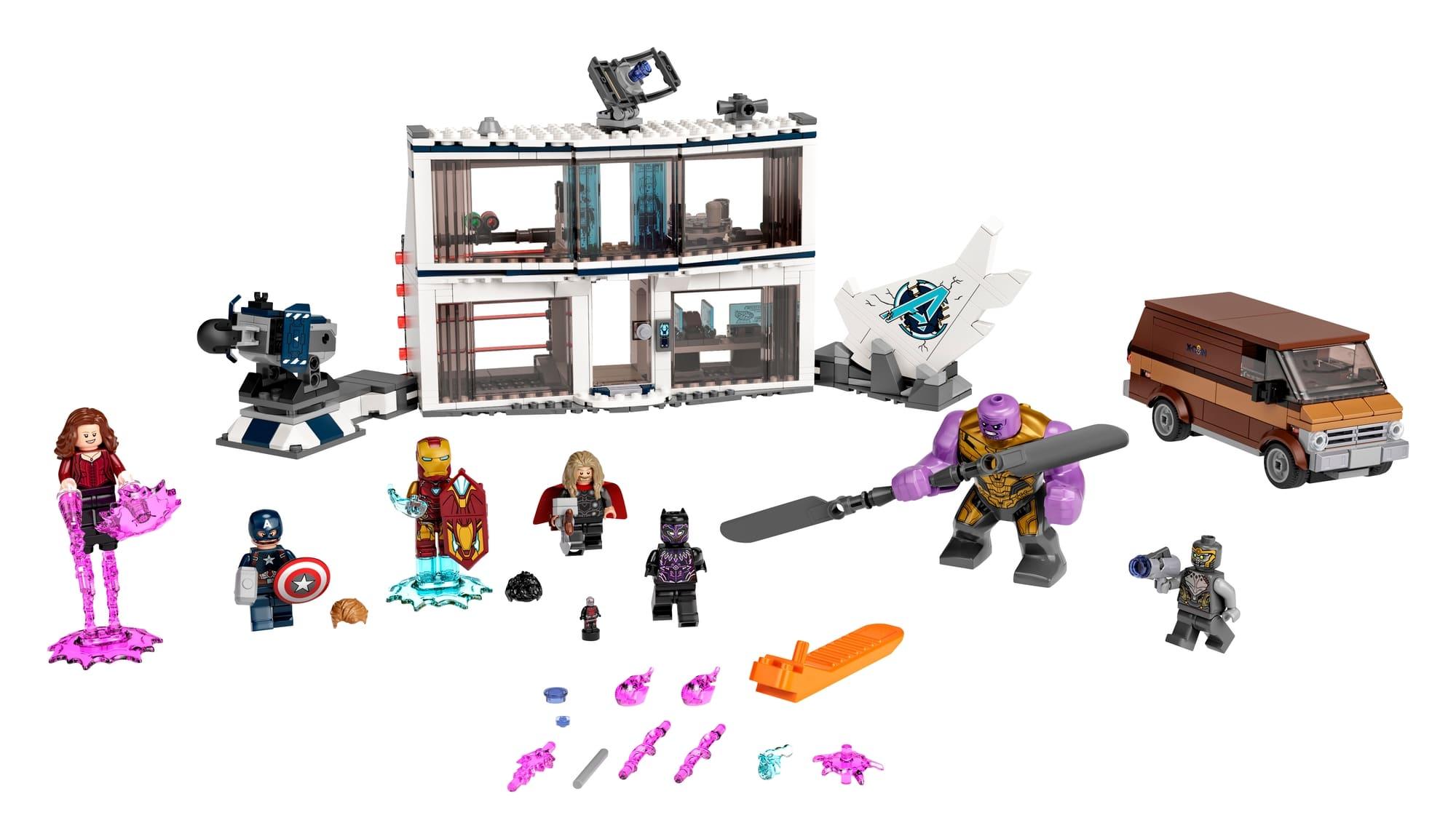 LEGO Marvel 76192 Avengers Endgame Letztes Duell 1