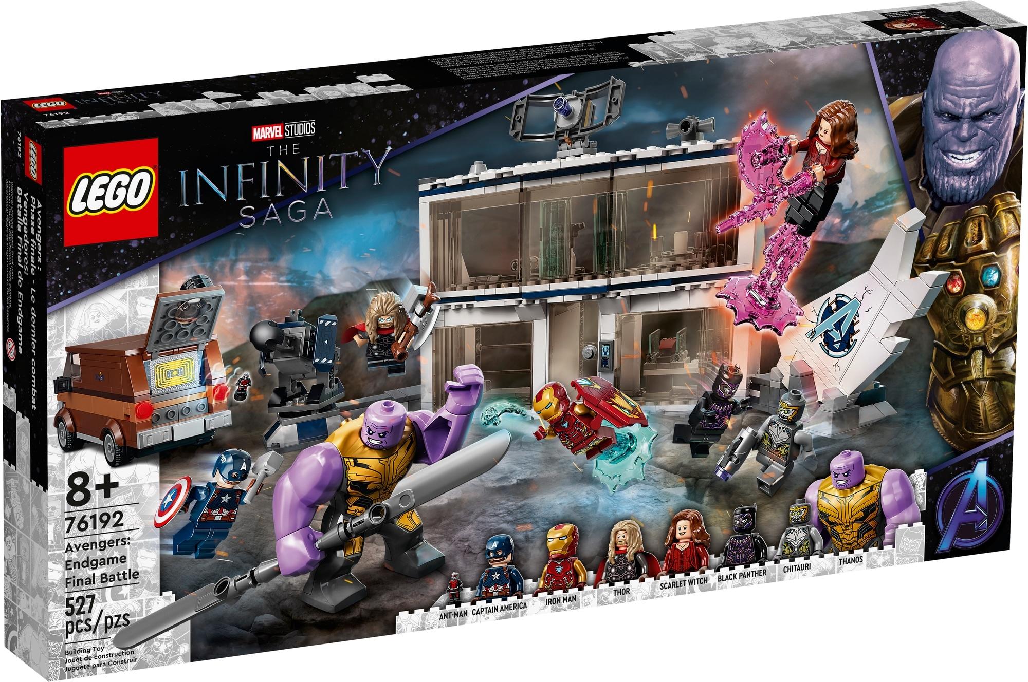 LEGO Marvel 76192 Avengers Endgame Letztes Duell 2