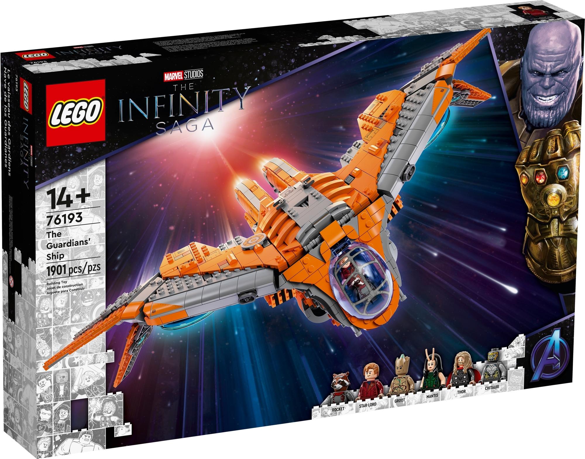 LEGO Marvel 76193 Das Schiff Der Wächter 2