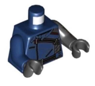LEGO Marvel Winter Soldier Torso