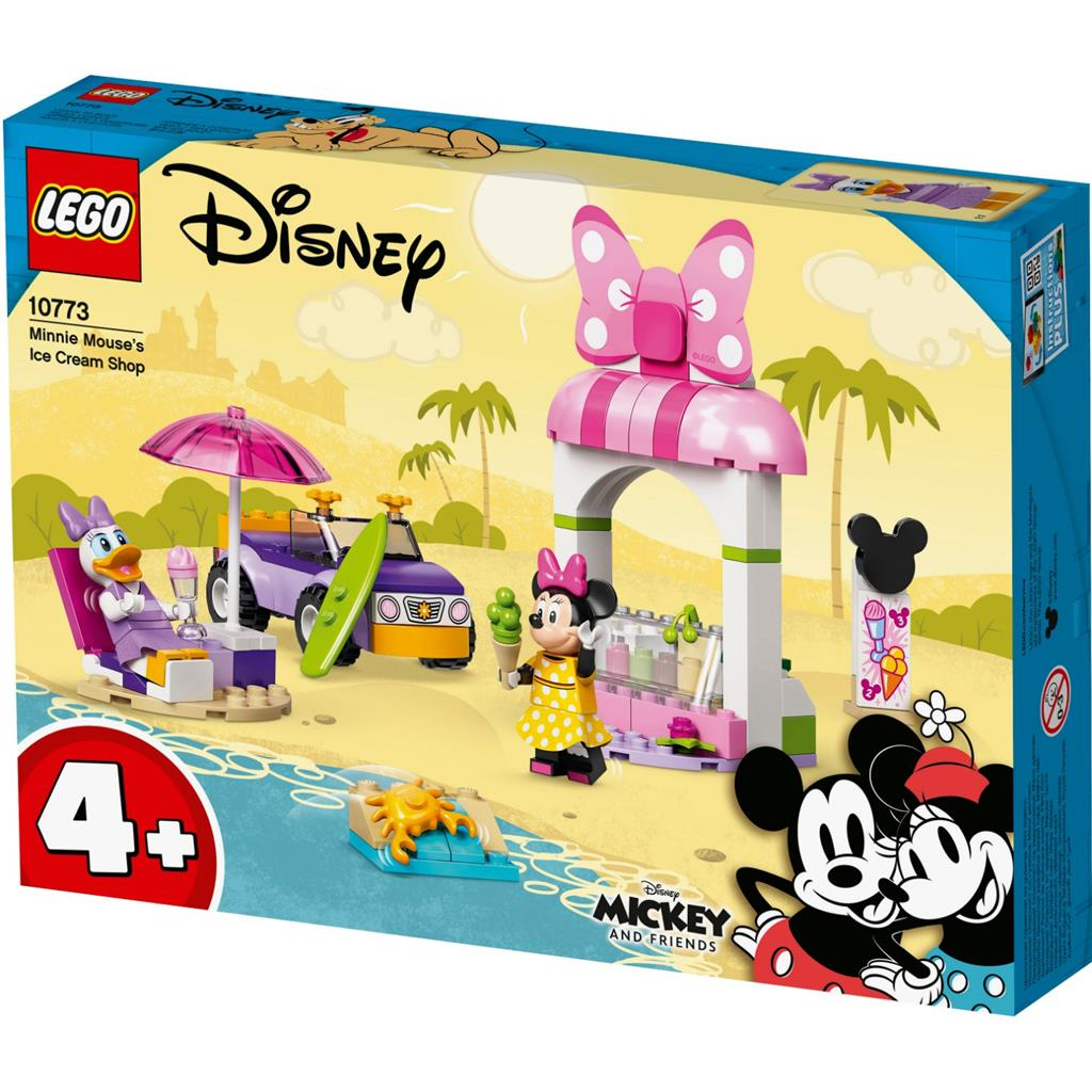 LEGO Mickey And Friends 10773 Minnie Mouse's Eisdiele 1