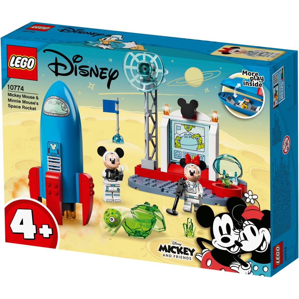 LEGO Mickey And Friends 10774 Mickey Mouse & Minnie Mouse's Weltraumrakete 1