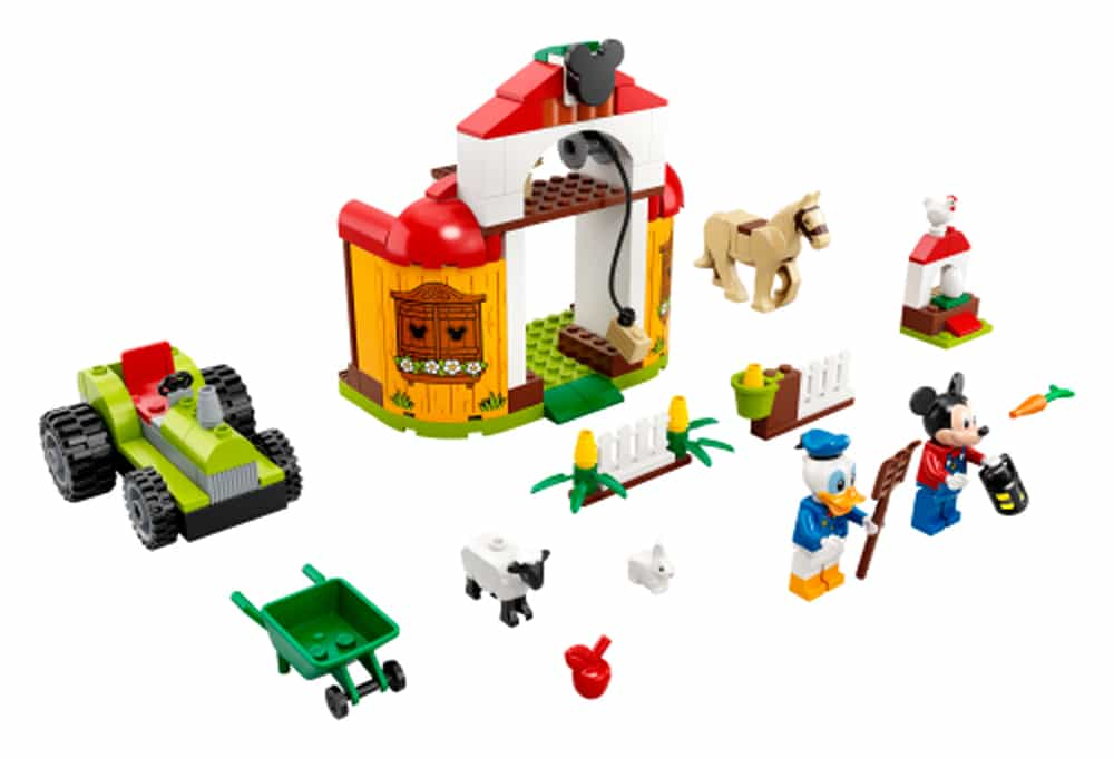 LEGO Mickey And Friends 10775 Mickys Und Donald Duck's Farm
