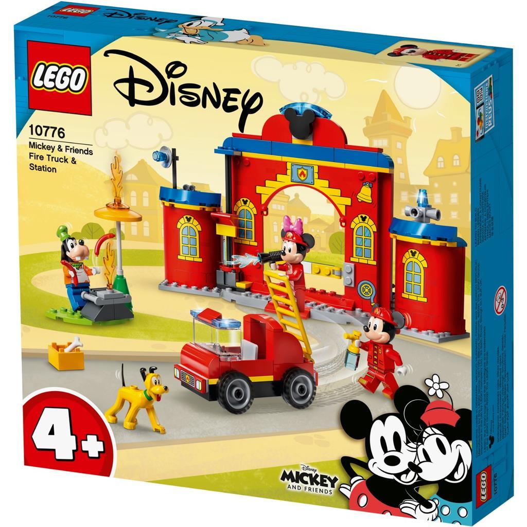 LEGO Mickey And Friends 10776 Mickys Feuerwehrstation Und Feuerwehrauto 1