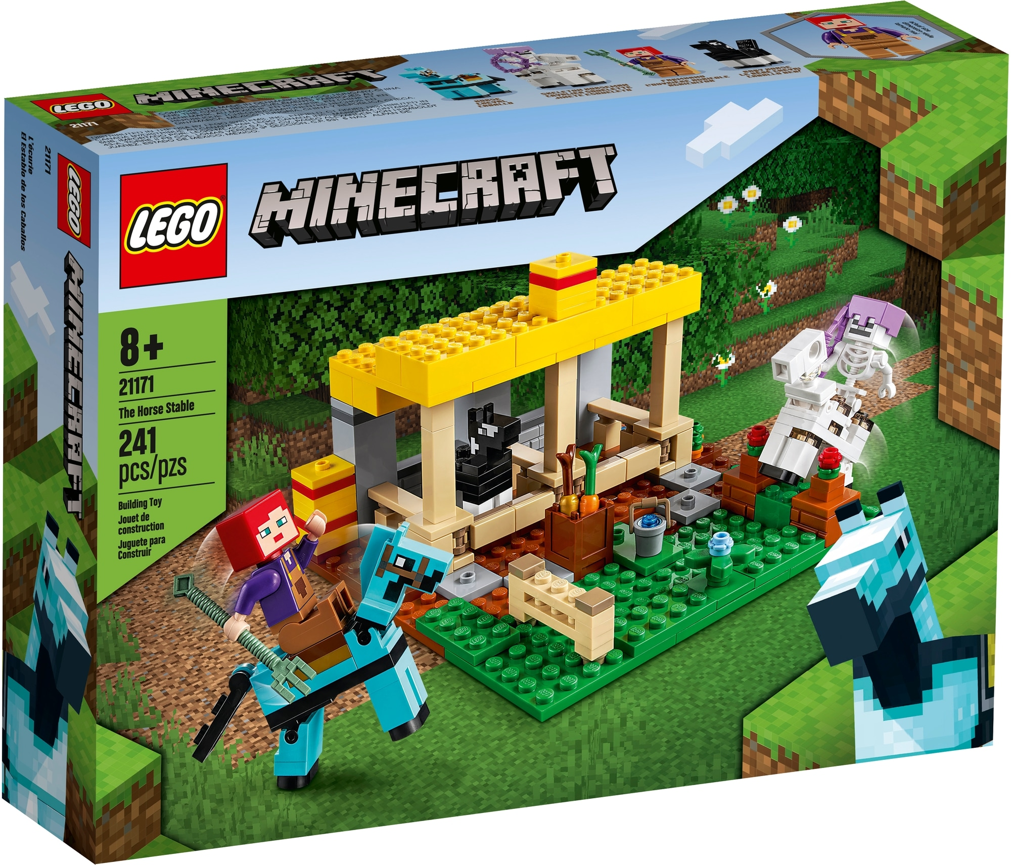 LEGO Minecraft 21171 Der Pferdestall 2