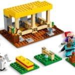 LEGO Minecraft 21171 Der Pferdestall 6