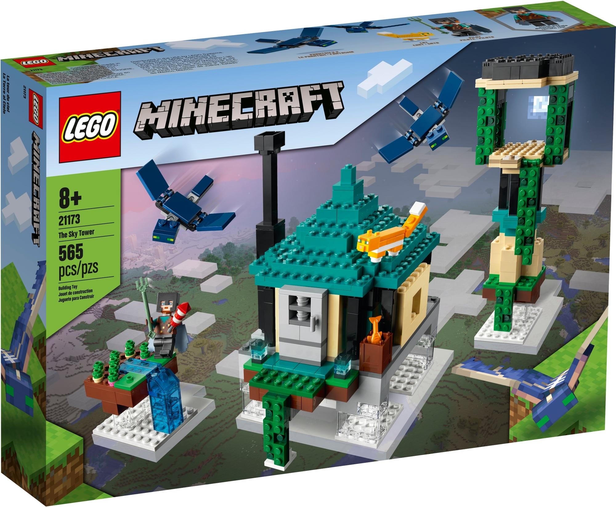 LEGO Minecraft 21173 Der Himmelsturm 2