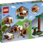 LEGO Minecraft 21174 Das Moderne Baumhaus 11