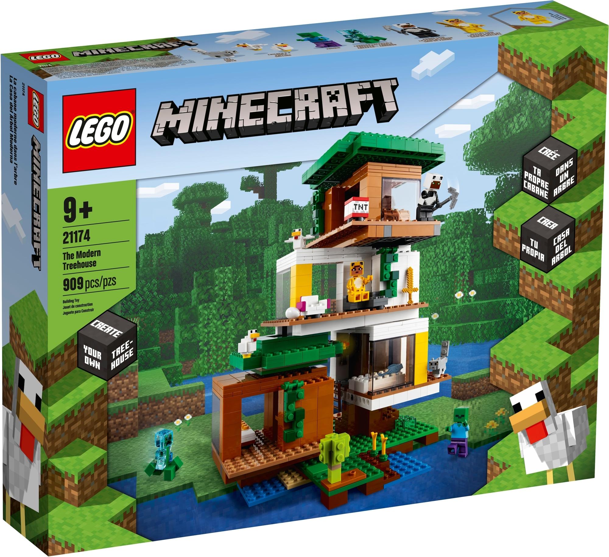 LEGO Minecraft 21174 Das Moderne Baumhaus 2