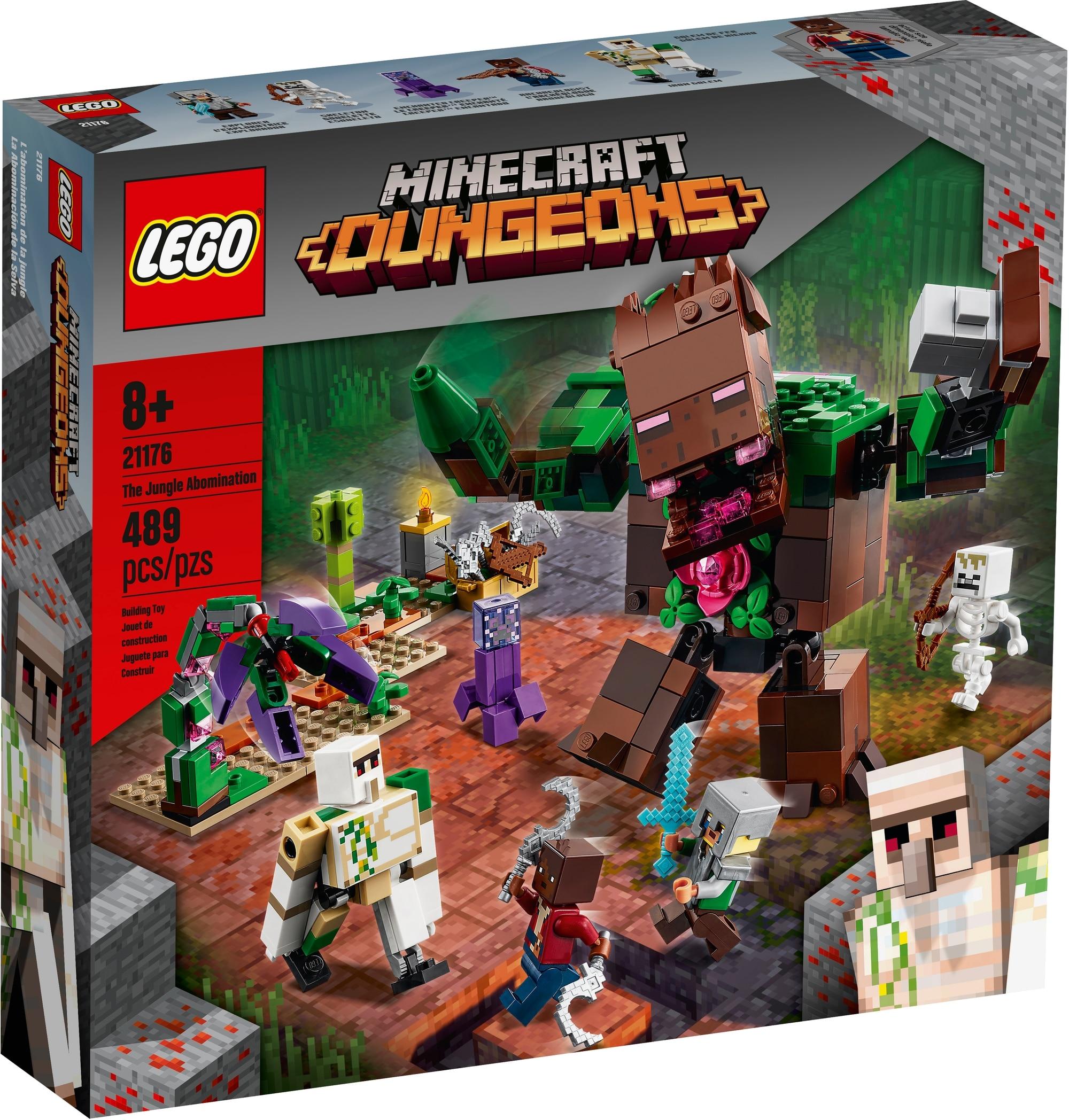 LEGO Minecraft 21176 Die Dschungel Ungeheuer 2