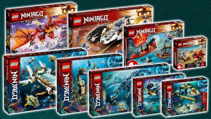 LEGO Ninjago 2021 Titelbild Neuheiten