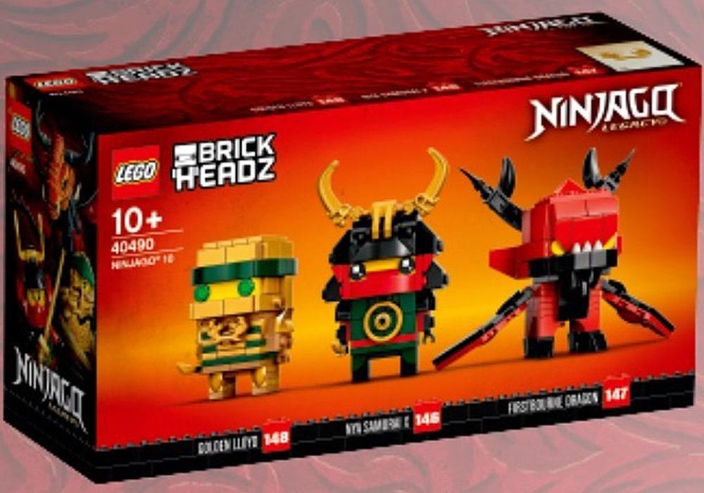 LEGO Ninjago 40490 10th Anniversary Brickheadz