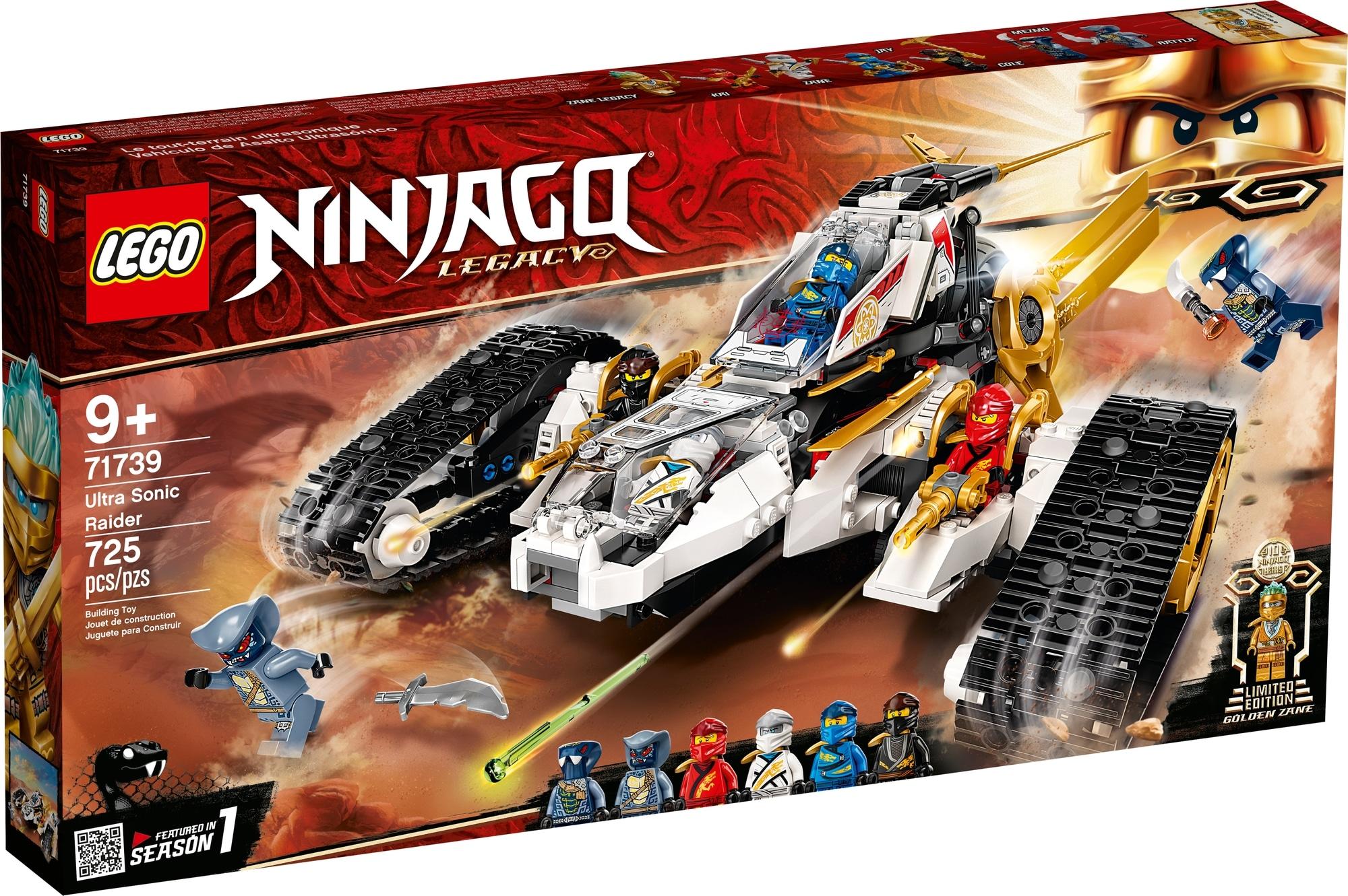 LEGO Ninjago 71739 Ultraschall Raider 2