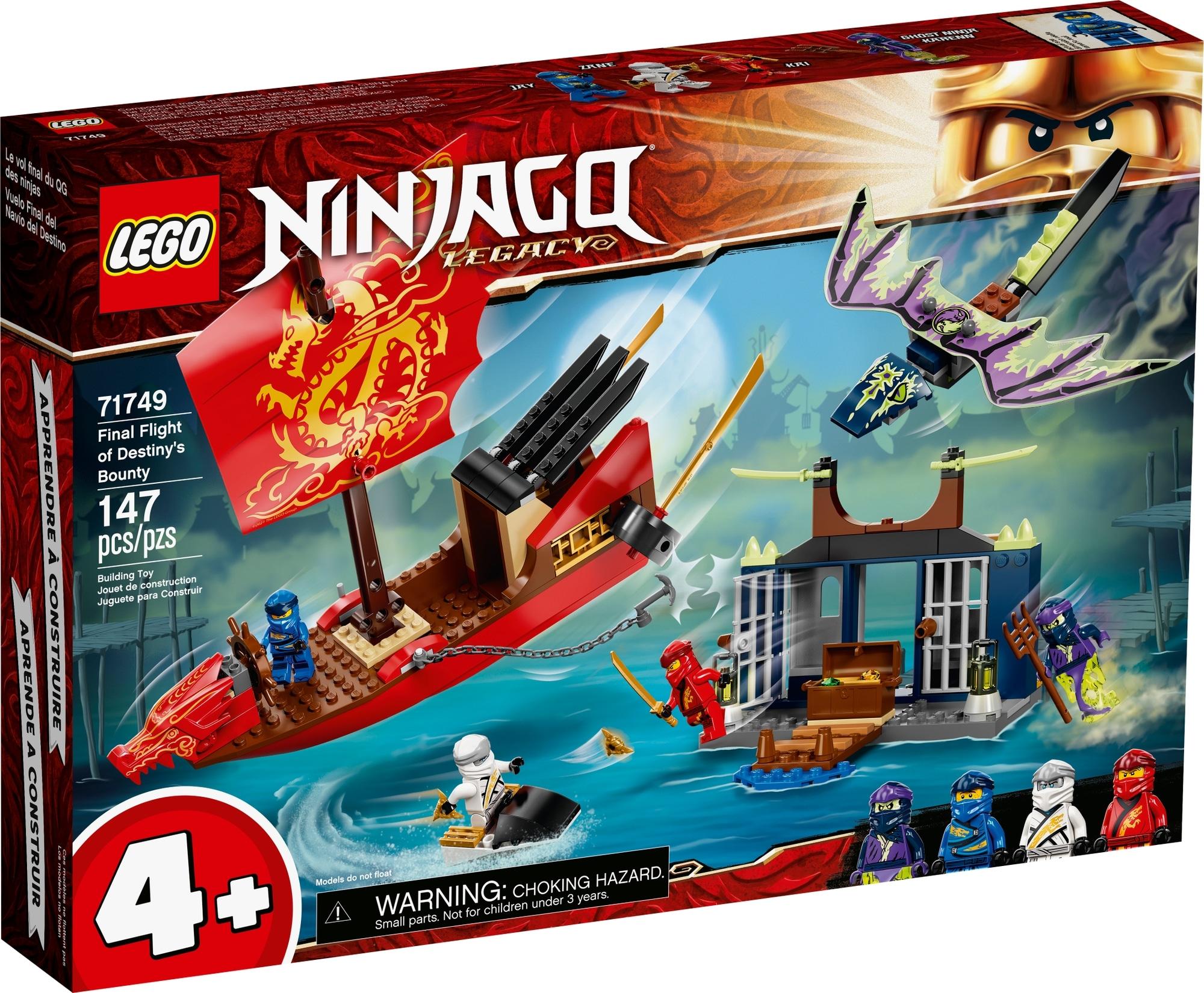 LEGO Ninjago 71749 Flug Mit Dem Ninja Flugsegler 2
