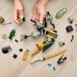 LEGO Ninjago 71750 Lloyds Hydro Mech 9